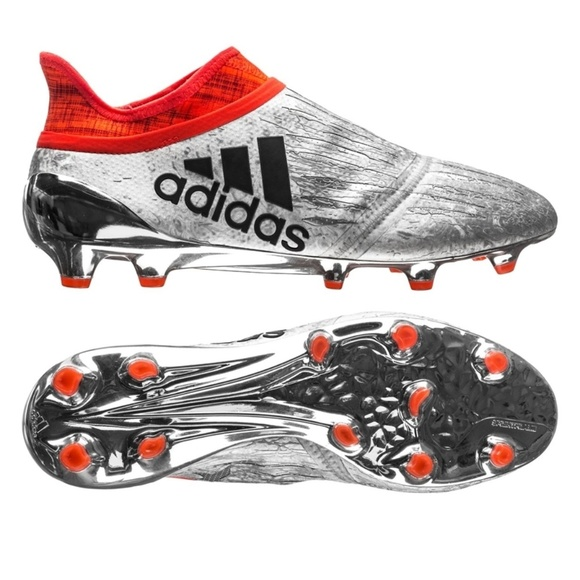 adidas Other - New Adidas PureChaos Silver Red Soccer Cleats 12.5 2bf61bcbc